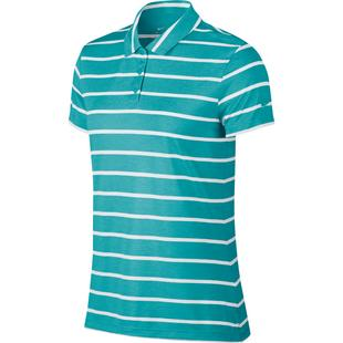 Women's Striped Dry Short Sleeve Polo