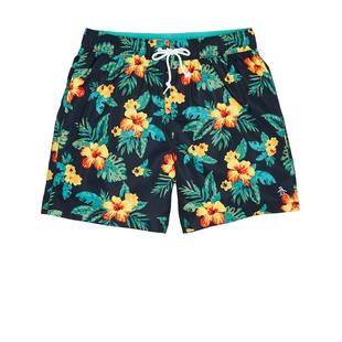 Men's Floral Elastic Stretch Short