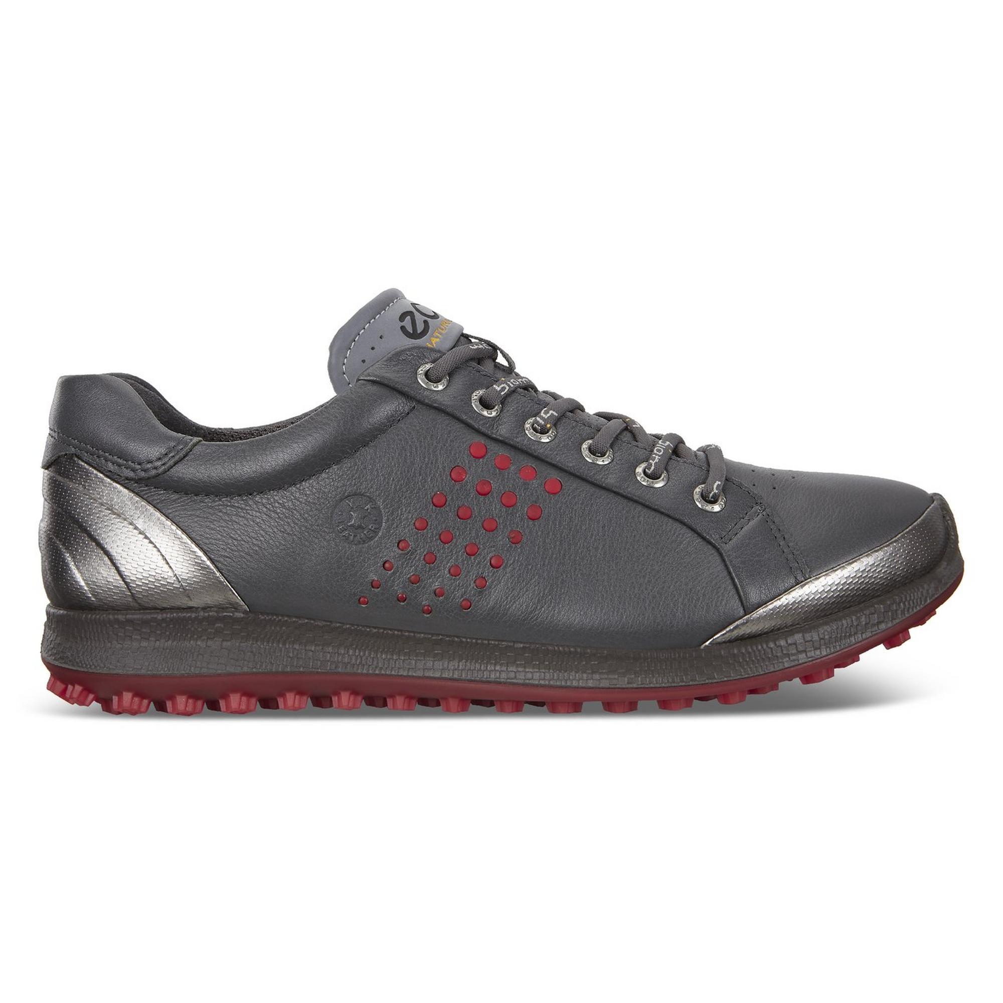Chaussures Biom Hybrid 2 sans crampons pour hommes - Gris/Rouge