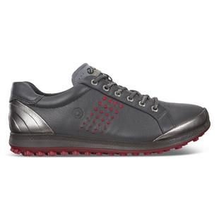Men's Biom Hybrid 2 Spikeless Golf Shoe - Grey/Red