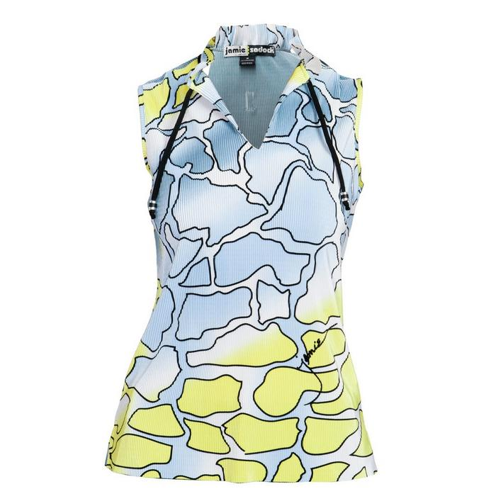 Women's Spring Camo Crunch Sleeveless Top