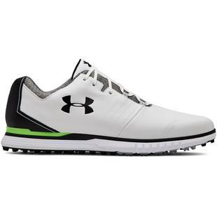 Men's Showdown Spikeless Golf Shoe - White/Black
