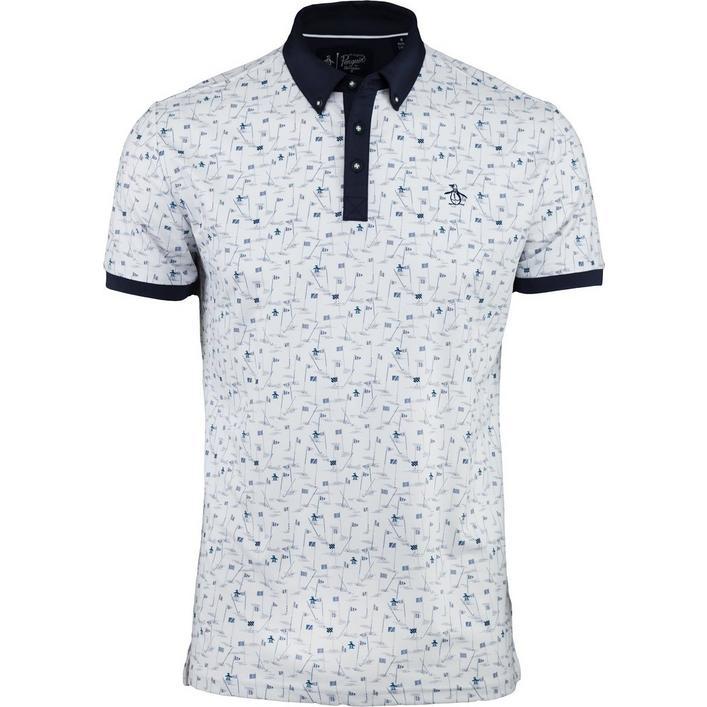 Men's Pete Flags Short Sleeve Shirt
