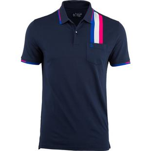 Men's Racing Stripe Short Sleeve Shirt