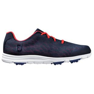 Women's Enjoy Spikeless Golf Shoe - Navy/Pink