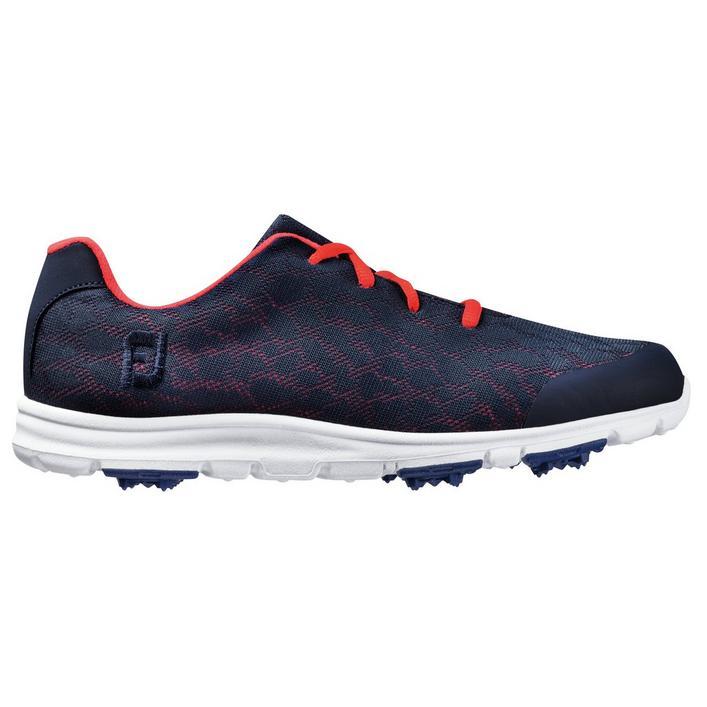 Women's Enjoy Spikeless Golf Shoe - Navy/Pink