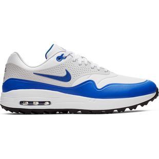 Men's Air Max 1 G Spikeless Golf Shoe - White/Blue