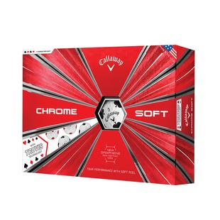 Chrome Soft Truvis Golf Balls - Suits Edition
