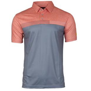 Men's Stacked Heather Print Short Sleeve Shirt