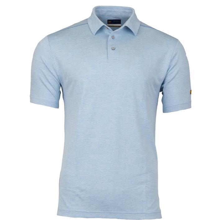 Men's Geo Jacquard Short Sleeve Shirt