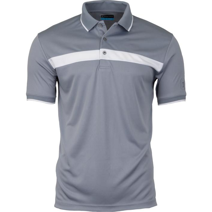 Men's Chest Colorblock Short Sleeve Shirt