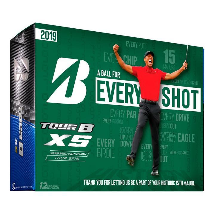 Tour B XS Golf Balls - Tiger Edition