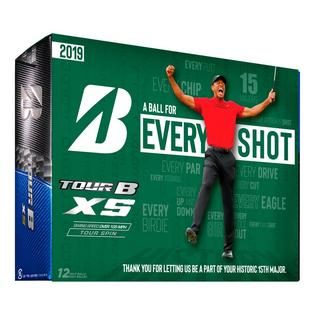 Tour B XS Golf Balls - Tiger Masters Edition