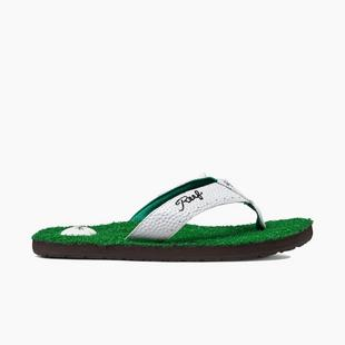 Men's Mulligan II Flip-Flop Sandal - Green/White