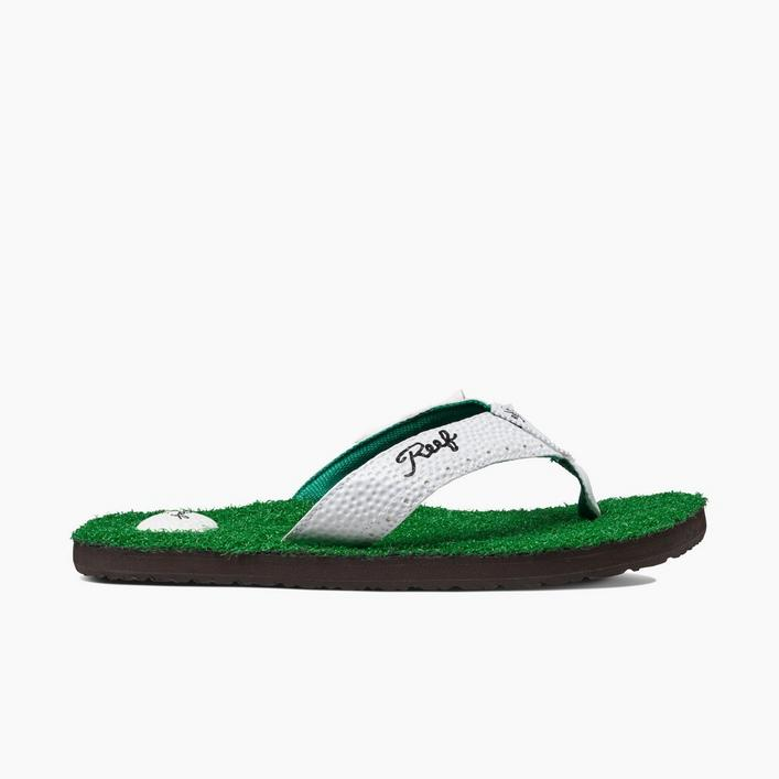 Sandales Mulligan II Flip-Flop pour hommes - Vert/Blanc