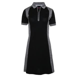 Women's Ivy Contrast Detail Short Sleeve Dress