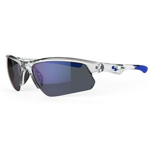 Men's Stack Sunglasses with Light Blue Mirror