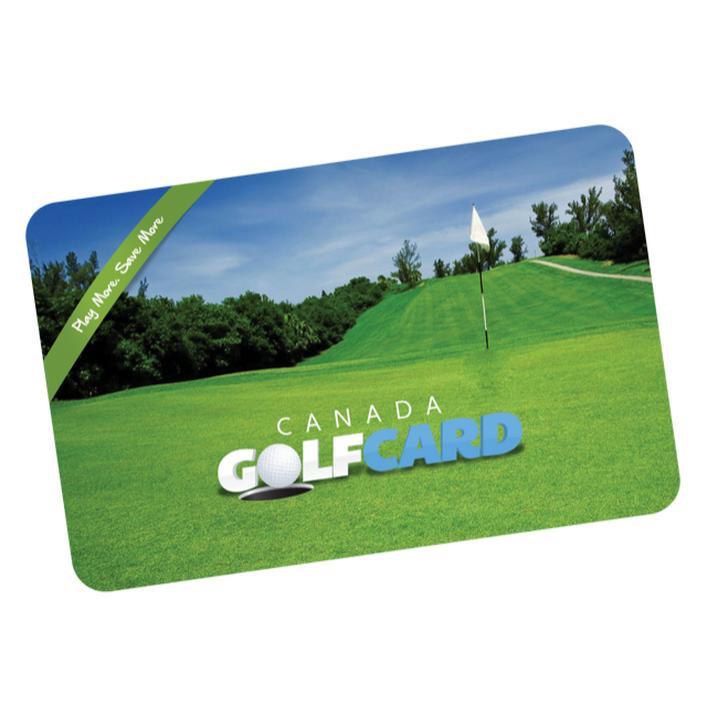 Carte Canada Golf 2020