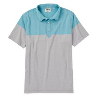 Men's End on End Colorblock Short Sleeve Shirt
