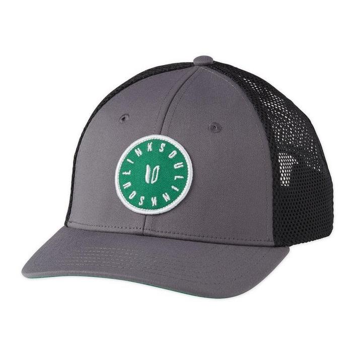Men's Green Patch Trucker Cap