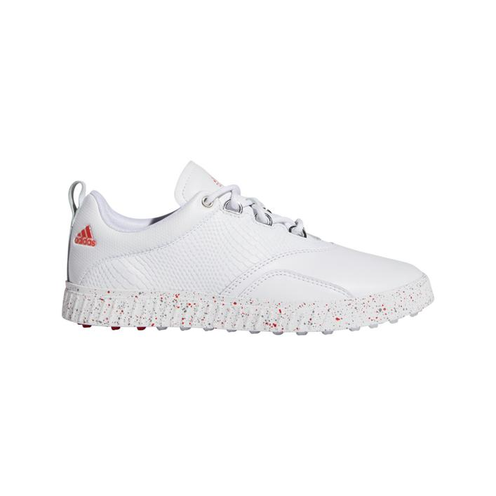 Women's Adicross PPF Canada Edition Spikeless Golf Shoe - White/Red
