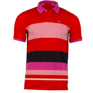 Men's Variegated Stripe Short Sleeve Shirt