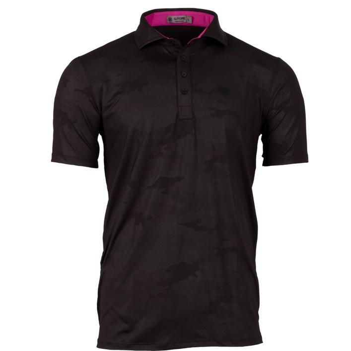 Men's Camo Embossed Short Sleeve Shirt