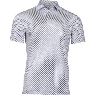 a50d0612 Men's Taxes Printed Skulls and Club Stretch Jersey Short Sleeve Shirt