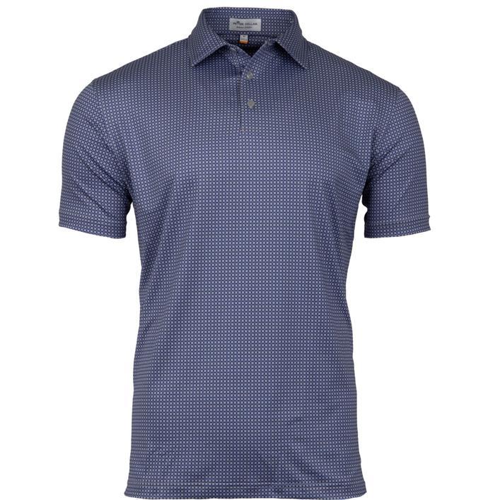 Chemise Roch à noeuds imprimés extensible à manches courtes pour hommes