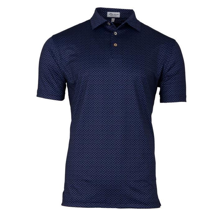 Men's Midtown Printed Paisley Stretch Short Sleeve Shirt