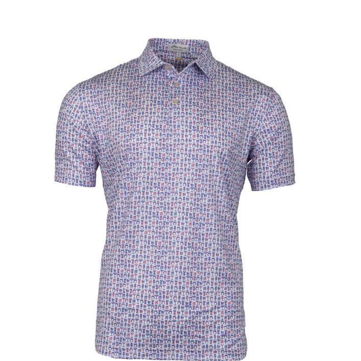 Chemise Lil' Friday à imprimé de coktails à manches courtes pour hommes