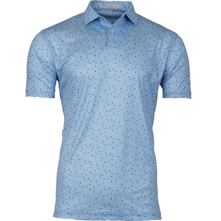 Chemise Featherweight à oiseaux imprimés avec manches courtes pour hommes