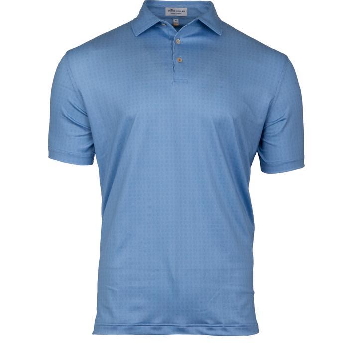Chemise Bridge à imprimé Geo extensible en jersey à manches courtes pour hommes