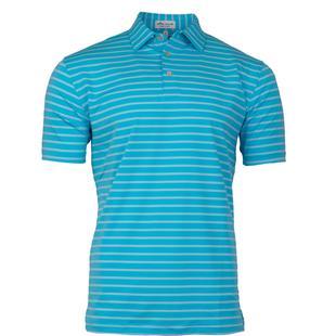 Chemise Market rayée extensible en jersey à manches courtes pour hommes