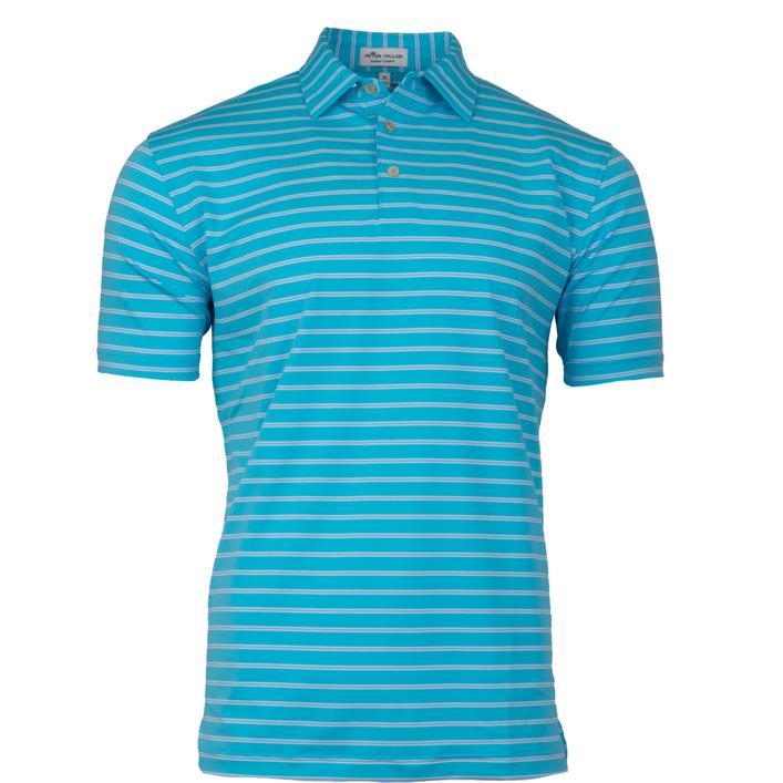 Men's Market Stripe Stretch Jersey Short Sleeve Shirt