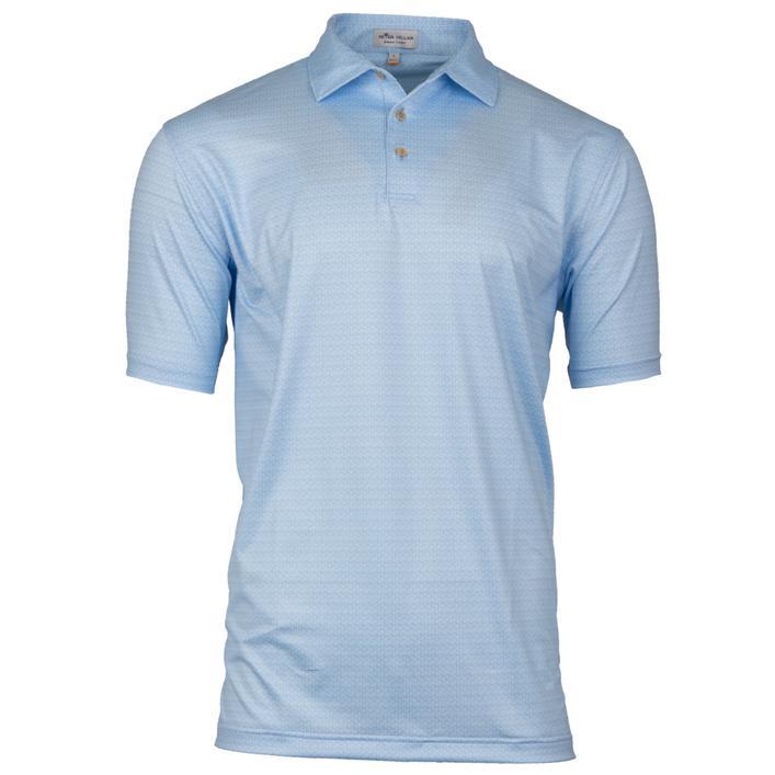 Men's 42nd Printed Golf Tees Stretch Jersey Short Sleeve Shirt