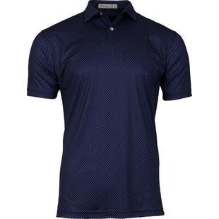 Men's Featherweight Printed Seashells Short Sleeve Shirt