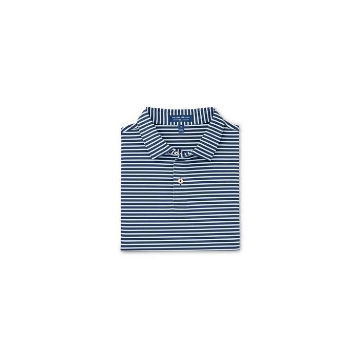 Chemise Crown Crafted Miles rayée extensible en jersey à manches courtes pour hommes