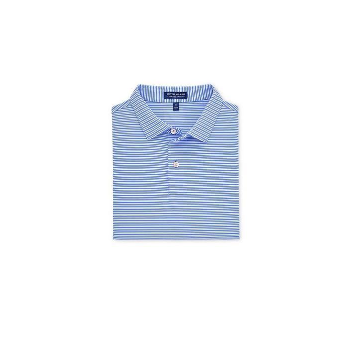 Men's Crown Crafted Coltrane Stripe Performance Short Sleeve Shirt