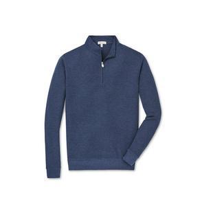 Men's Crown Comfort Interlock 1/4 Zip Sweater