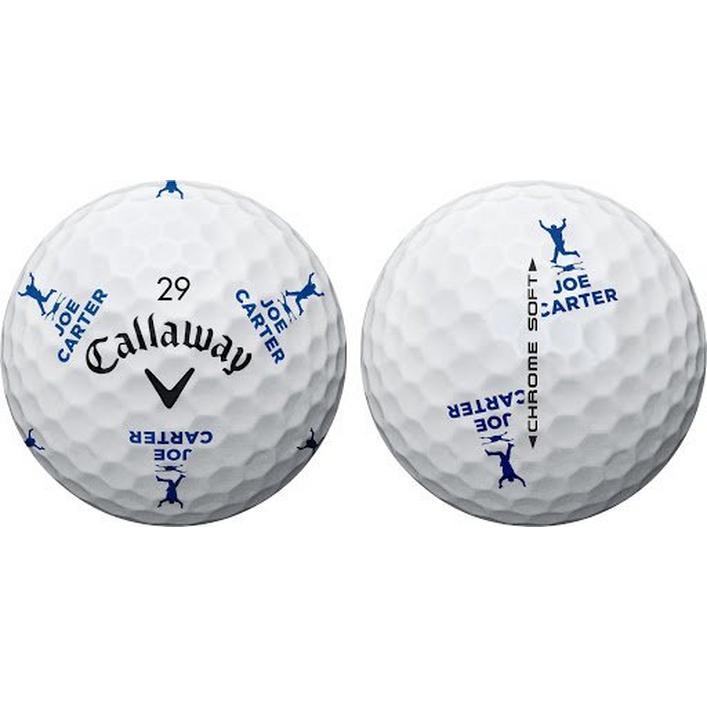Chrome Soft Truvis Golf Balls - Joe Carter Edition