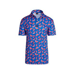 Men's Watermelon Short Sleeve Polo
