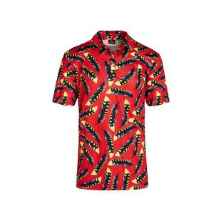 Men's Lucky Feathers Short Sleeve Polo