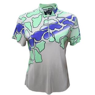 Women's Spring Camo Crunch Short Sleeve Top