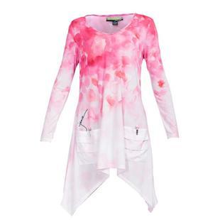Robe Sunsense à imprimé de fleurs sauvages à manches longues pour femmes