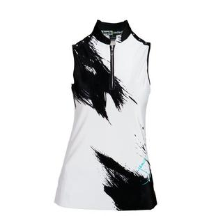 Women's Canvas Printed Crunch Sleeveless Top
