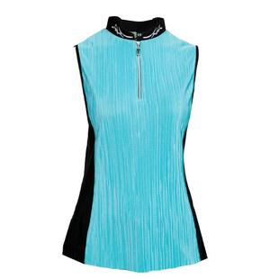 Women's Side Panel Crunch Sleeveless Top