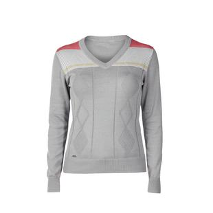 Women's Georgia V-Neck Long Sleeve Sweater