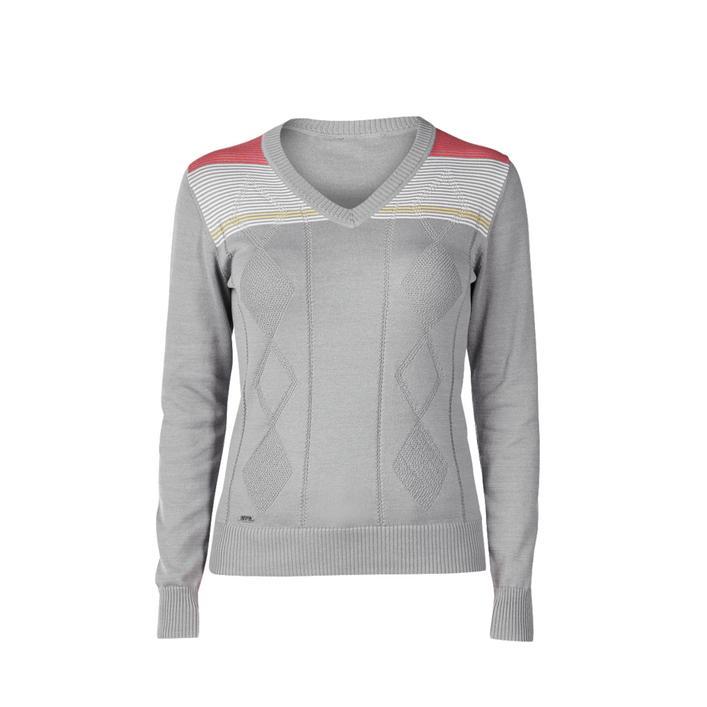 Women's Georgia V-Neck Long Sleeve Sweater
