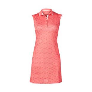 Women's Genevieve Textured Printed Sleeveless Dress